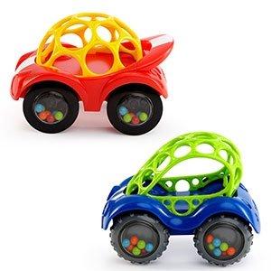 【淘氣寶寶】美國 Kids II-Oball 洞動小賽車(顏色隨機出貨)【不含BPA. PVC. 乳膠、鄰苯二甲酸酯類】