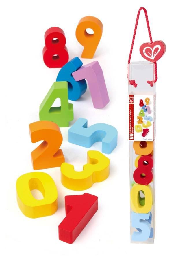 【淘氣寶寶】德國Hape愛傑卡 拼圖系列-快樂積木組-數字.生活認知.1歲以上.內有不同款快樂積木組