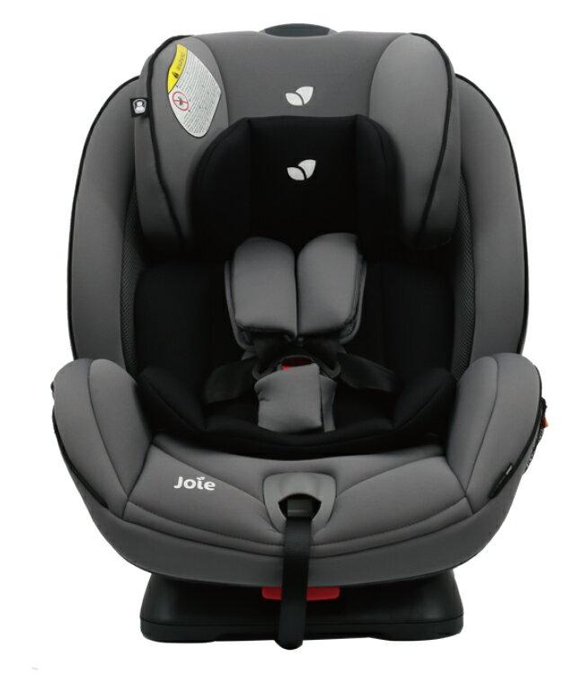【淘氣寶寶】奇哥 joie 0-7豪華成長型雙向汽座-灰色 【吸震力更佳/提升側面撞擊保護】