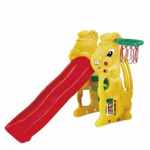 【淘氣寶寶】【CHING-CHING親親】小白兔溜滑梯 『SL-07 p03』