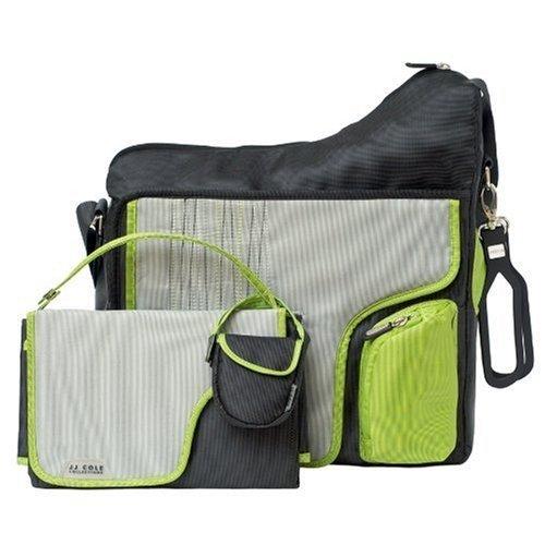【淘氣寶寶】JJ Cole Collection Bag 媽媽包+尿布墊+奶嘴袋+吊環(4合一) 三種款式