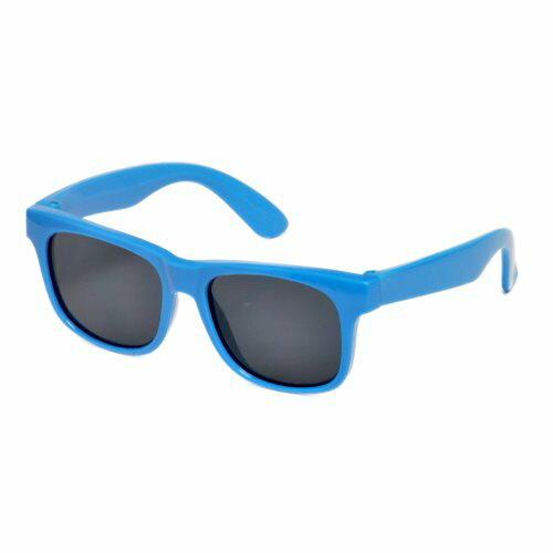 RKS經典純色4-7歲太陽眼鏡 / 藍色 RKS4-01302 (UV400鏡片,可完全過濾UVA和UVB兩種紫外線)【紫貝殼】 - 限時優惠好康折扣