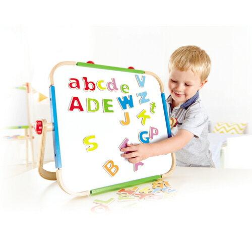 【淘氣寶寶】德國Hape愛傑卡-ABC磁鐵字母【天然實木、植物性水染漆、德國環保玩具】