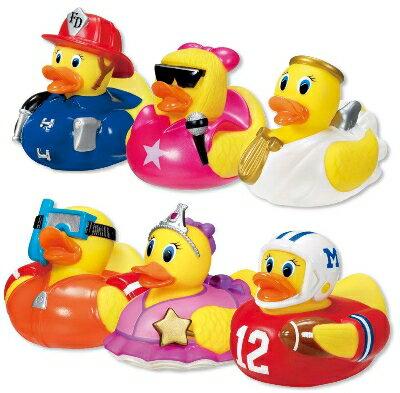 【淘氣寶寶】Munchkin 感溫造型洗澡鴨/洗澡玩具Hot (單入)