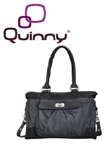【淘氣寶寶】Quinny Bags 時尚媽媽包 (附換尿布墊Mattress)(顏色:米色 / 黑色) 1