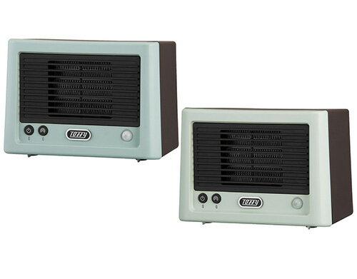 日本代購 空運 2020新款 TOFFY TF-HTR01 小型 暖風機 陶瓷 電暖器 暖氣機 速暖 人感偵測