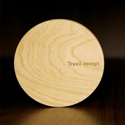杯墊-台灣檜木 (圓形)