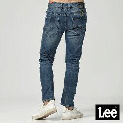 Lee 低腰合身3D牛仔褲/UR-深