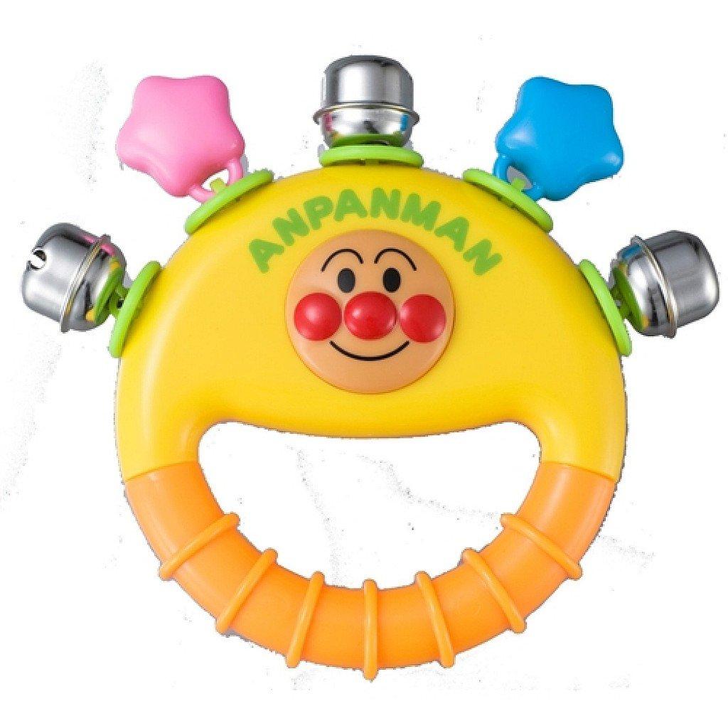 【真愛日本】17100600007 手搖鈴玩具-ANP大頭星星 電視卡通 麵包超人 兒童玩具 小朋友最愛
