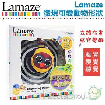✿蟲寶寶✿【Lamaze】拉梅茲嬰幼兒玩具感官發覺發現可愛動形狀