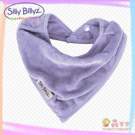 +蟲寶寶+【澳洲Silly Billyz】親膚天然有機棉 棉質西部牛仔圍兜 - 紫