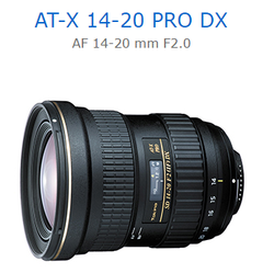 [滿3千,10%點數回饋]Tokina AT-X 14-20 PRO DX AF 14-20 mm F2.0 立福公司貨