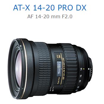 Canon Mall:送蔡司拭鏡紙TokinaAT-X14-20PRODXAF14-20mmF2.0立福公司貨