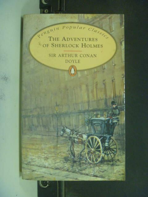 【書寶二手書T9/原文小說_KJA】The Adventures of Sherlock Holmes