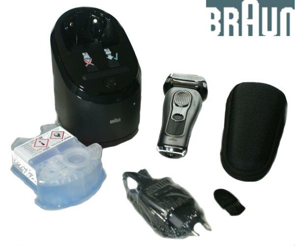 德國百靈BRAUN9系列頂級音波電動刮鬍刀9290CC乾溼2用(德國製)