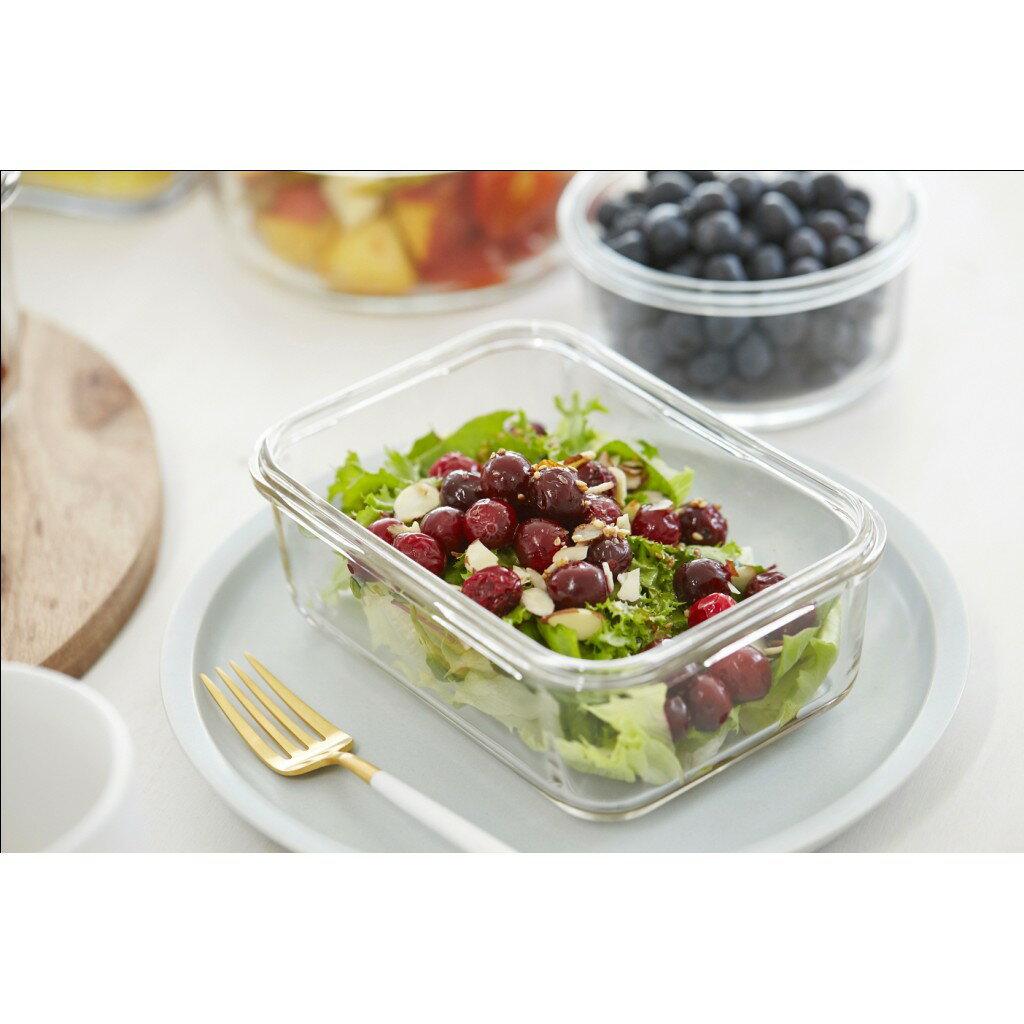 【店長推薦】Glasslock 強化玻璃保鮮盒 - 冰箱收納 9 件組/韓國製造/可微波/耐瞬間溫差120度/減塑餐盒/上班族學生帶飯 2
