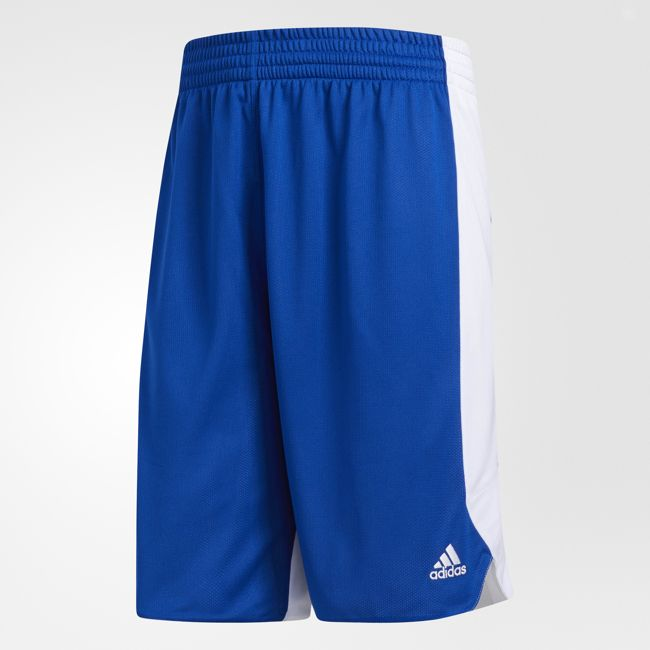 ADIDAS Crazy Explosive 男裝 短褲 籃球 慢跑 健身 訓練 舒適 白 藍【運動世界】CD8684