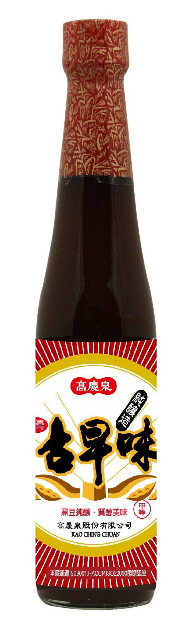 高慶泉 純釀古早味油膏410cc