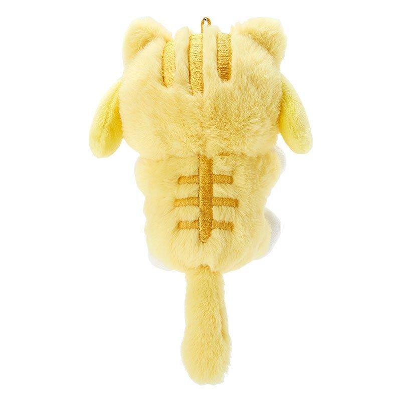 布丁狗 變裝貓 珠鍊棉柔吊飾娃 GD24 絨毛娃娃 娃娃 布偶 玩偶 吊飾娃 掛飾 擺飾 真愛日本