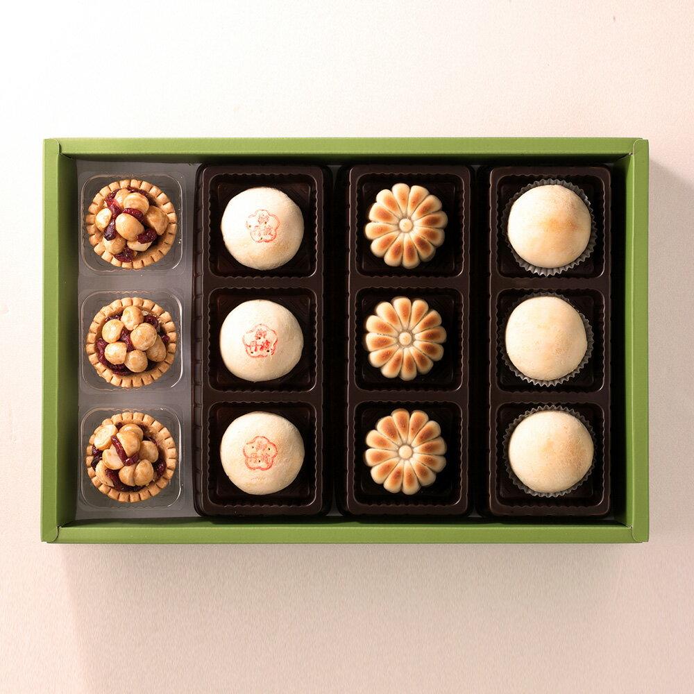 和風禮盒12入【精選年節禮盒】【日式綜合燒菓子】 0