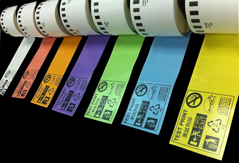 brother DK 系列黃色標籤帶 62mm (適用QL-500/550/700/720NW/650TD/1050)(含稅含運)
