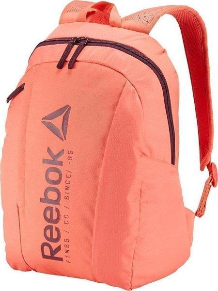 REEBOK FOUNDATION BACKPACK 背包 後背包 雙肩 大容量 筆電 橘 粉 【運動世界】BK6006