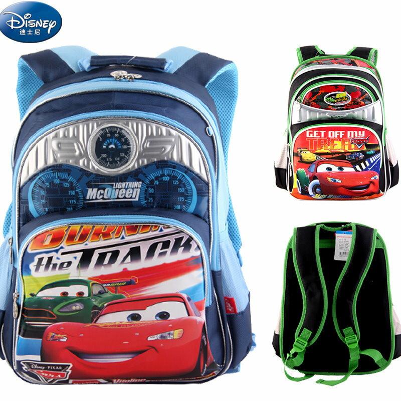 正版Disney 迪士尼汽車總動員 閃電麥昆 兒童書包 後背包小學生書包 - 限時優惠好康折扣