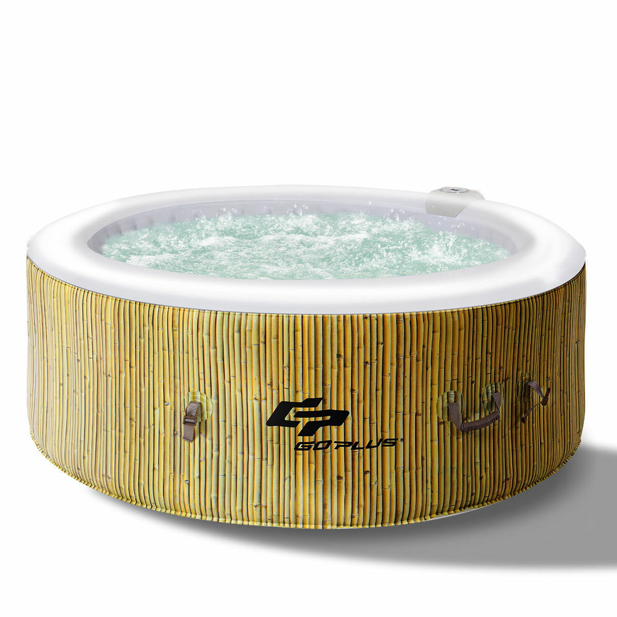 Costway | Rakuten: Goplus 4 Person Inflatable Hot Tub Outdoor Jets ...