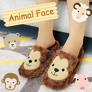 【沙克思】ZOCKS 捲捲毛動物刺繡絨毛女室內拖鞋 特性:捲絨毛底襯+網格內襯+立體後跟+足底仿皮止滑 (鞋子 保暖室內鞋)