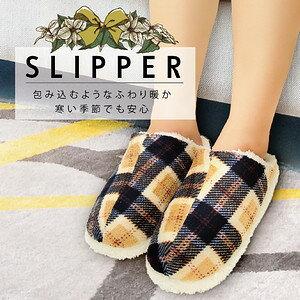 【沙克思】WARM LEBEN 蘇格蘭格紋內刷毛止滑女室內鞋 特性:內仿羔羊毛柔軟裏襯+低反發中底+低噪音鞋底附微止滑 (鞋子 保暖室內拖)