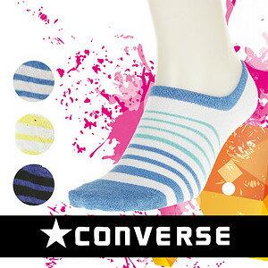 【沙克思】CONVERSE漸進粗細紋男滑板襪 特性:舒適棉混+後跟Y字設計.穩定性佳 (襪子 男襪)
