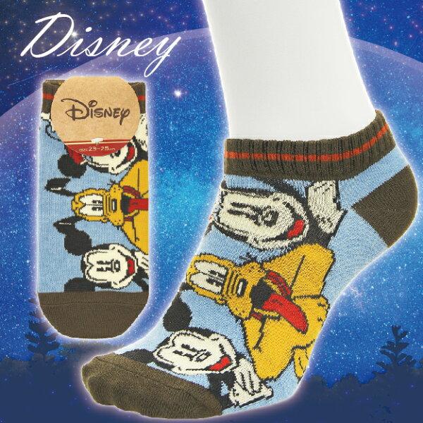 【沙克思】Disney自拍米奇布魯托米妮女滑板襪特性:舒適伸縮棉混編織+迪士尼人氣卡通(襪子女襪女短襪迪士尼MickeyMousePlutoMinniemouse)