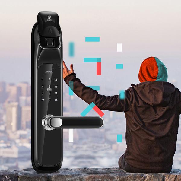 聯泰電子鎖 FM-520 保全升級版 電子鎖推薦2019最新推薦!結合智慧管家APP!超強指紋鎖推薦!! 3
