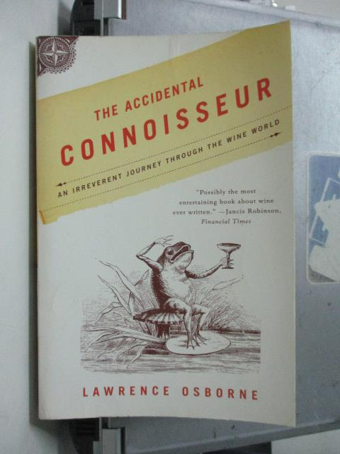 ~書寶 書T6/原文小說_ORY~The Accidental Connoisseur