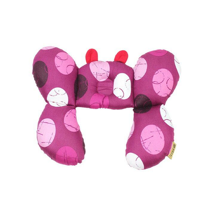 Mam Bab夢貝比 - 大護頸枕(蝴蝶枕) -玫瑰紅 0