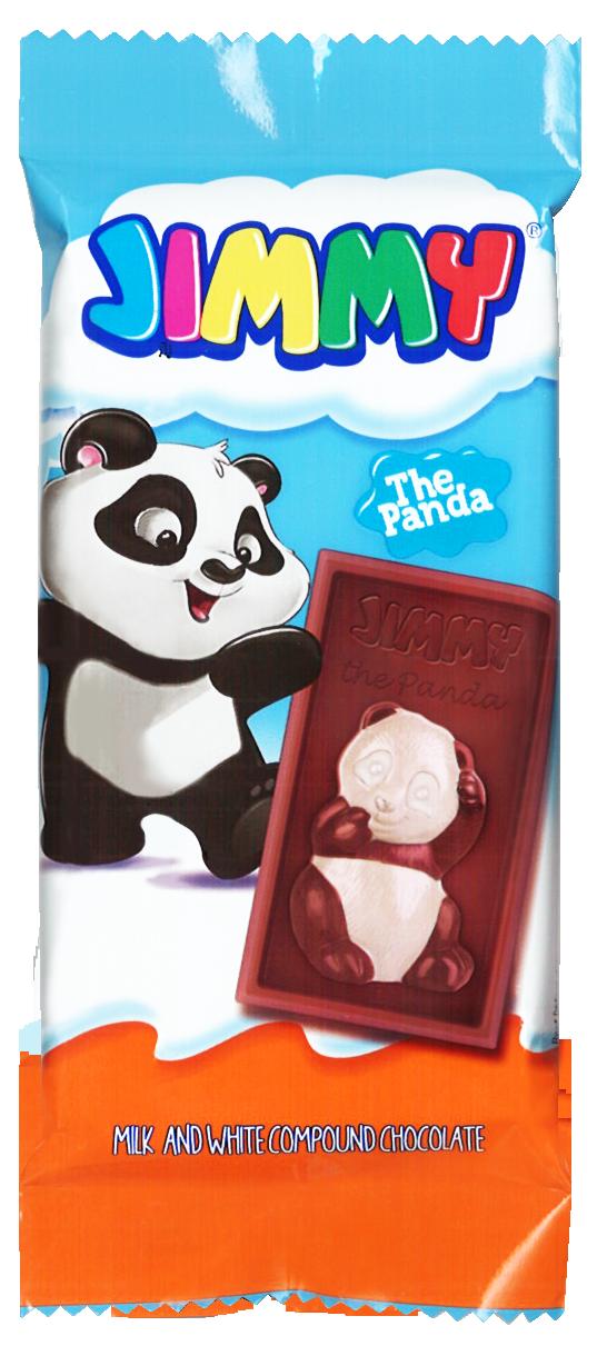 土耳其 塔雅思 JIMMY 熊貓代可可脂巧克力【咪咪兔小舖】巧克力片