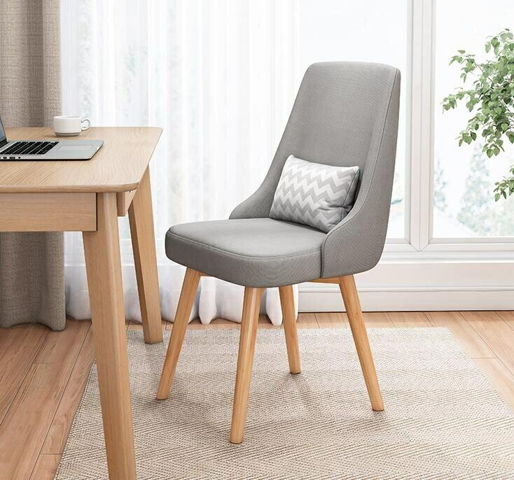 辦公椅家用簡約舒適學生學習寫字椅書桌椅臥室凳子靠背椅子TW
