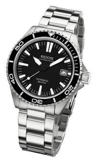 epos 愛寶時 3413.131.20.15.30 活力潛水機械腕錶/黑面41mm