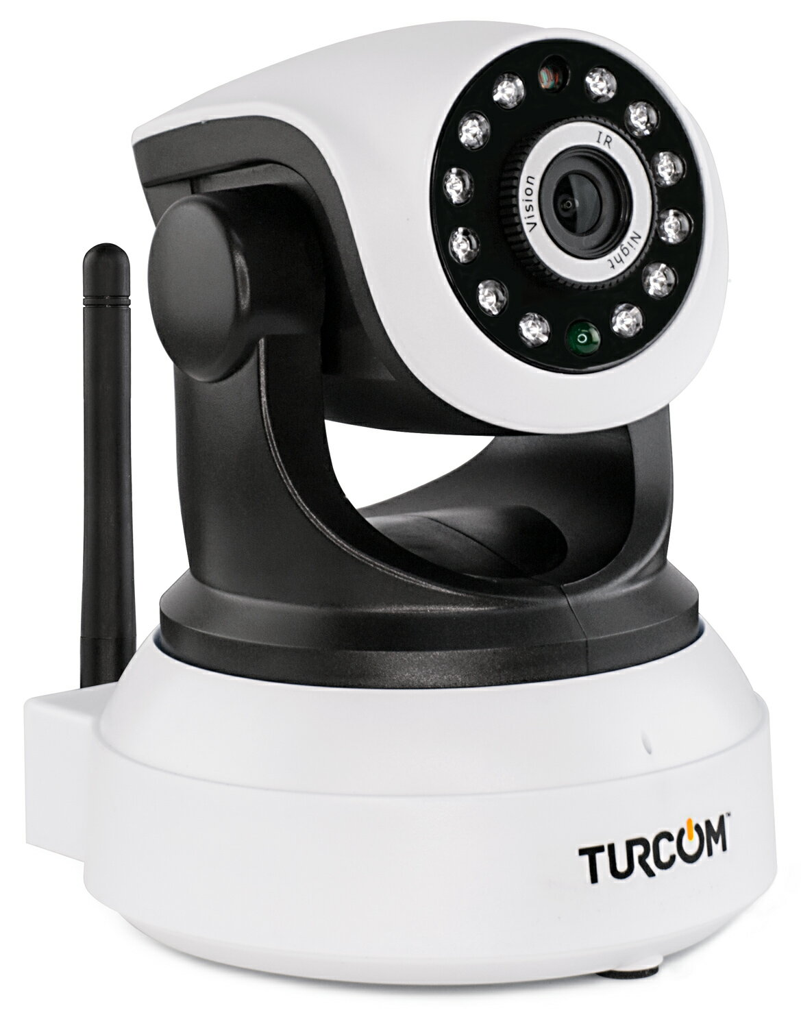 Turcom IP Camera Baby Monitor, Night Vision, HD, Two Way Audio, WiFi  Wireless Security, Connects to Tablets and iPhone or Android Phones