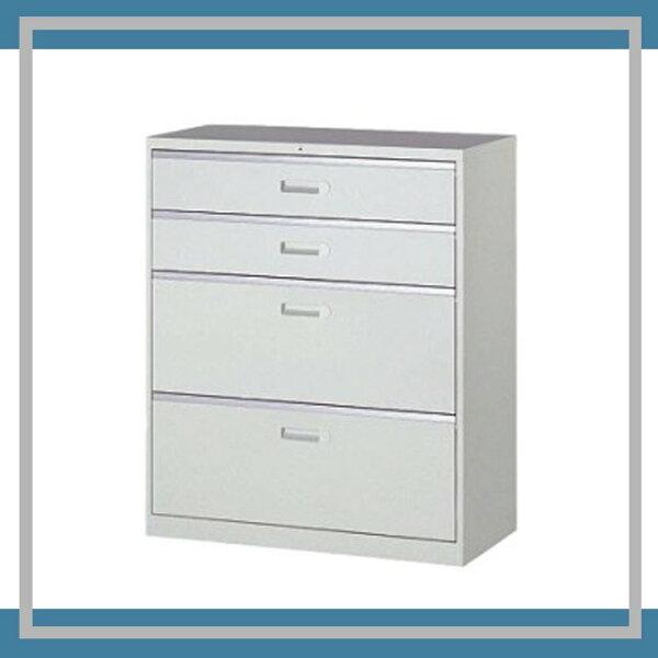 『商款熱銷款』【辦公家具】UD-4一般抽屜二小二大層式資料文件檔案櫃櫃子檔案收納