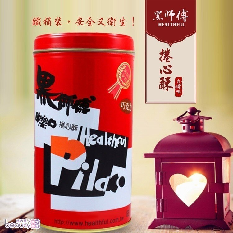 金德恩【黑師傅】牛奶/花生/草莓/巧克力 捲心酥 1罐 (400G/罐)