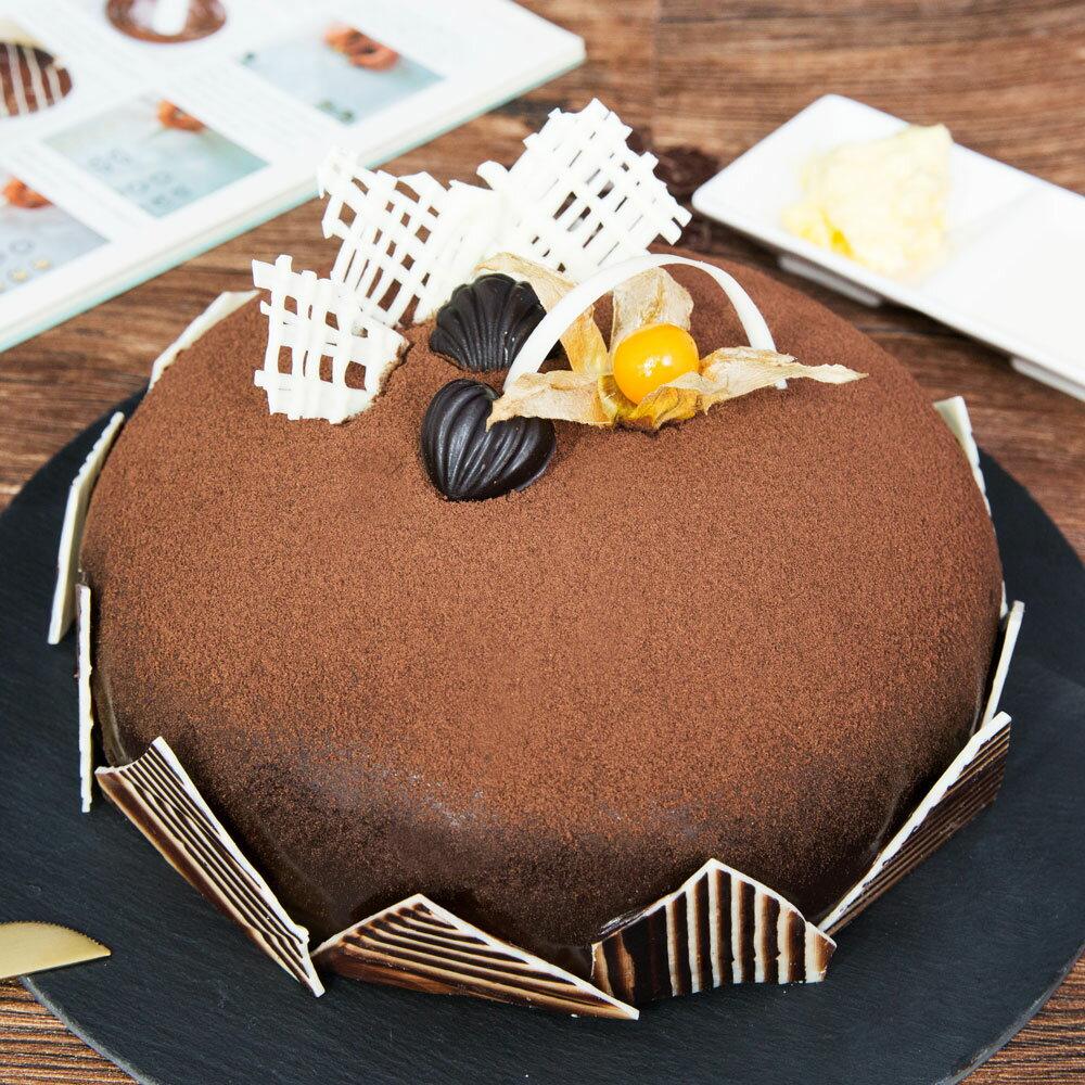 【上城蛋糕】生日蛋糕門市自取-上城黑森林8吋-多層次巧克力風情,巧克力蛋糕,黑森林蛋糕,巧克力戚風,下午茶甜點首選