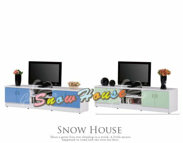 ╭☆雪之屋居家生活館☆╯P347-17/18/19 DA-124 6尺塑鋼電視櫃/置物櫃/收納櫃