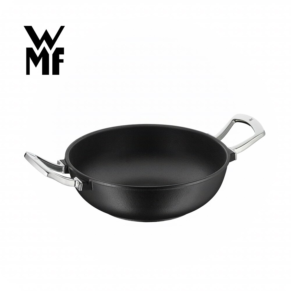 【德國WMF】鑄鐵炒鍋 28cm