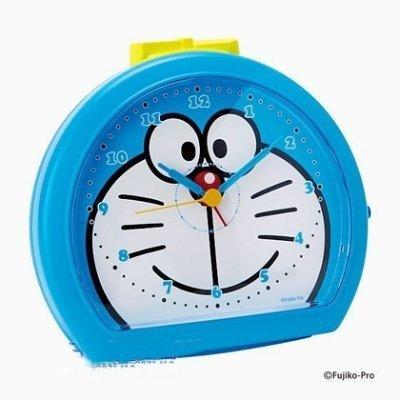 【真愛日本】16112600018 鬧鐘-DM半圓大頭藍 小叮噹 哆啦A夢 時鐘 鬧鐘 三麗鷗 KITTY