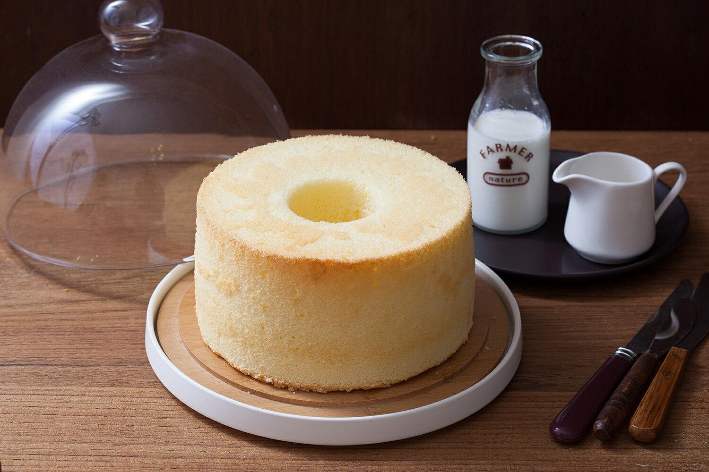 輕乳酪戚風蛋糕 七吋