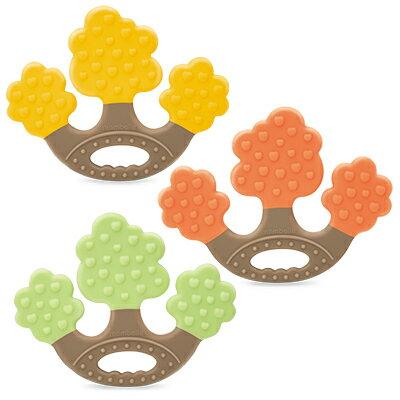 ★衛立兒生活館★Mombella 蘋果樹固齒器(綠/橙/黃)