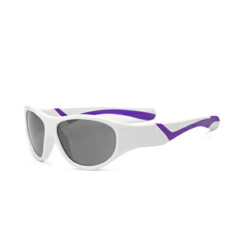 ~淘氣寶寶~RKS發掘者 2~4歲太陽眼鏡  紫白 RKS2~01480  UV400鏡