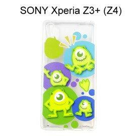 利奇通訊 迪士尼透明軟殼 [人物] 大眼仔 SONY Xperia Z3+ /  Z3 Plus (Z4)【Disney正版授權】