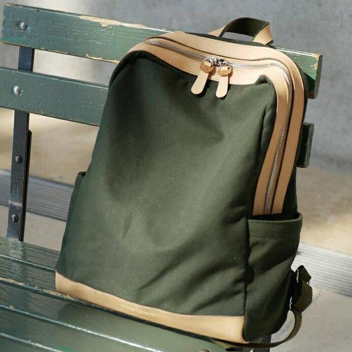 WHITEOAK 超實用多夾層配色backpack帆布包(6色) 0